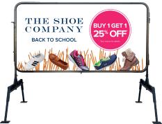 Shoe company print